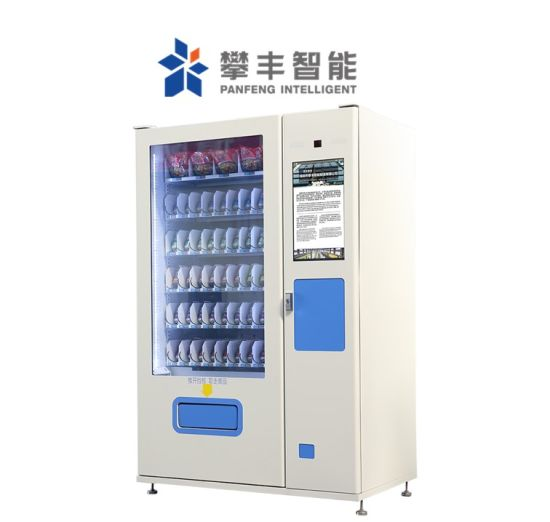 Smart Combo Coca Cola Sprite Canned Beverage Vending Machine for Neighborhoods