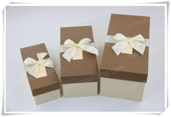 Kraft Paper Gift Box, Best Selling Products of Custom Paper Packaging Box pictures & photos