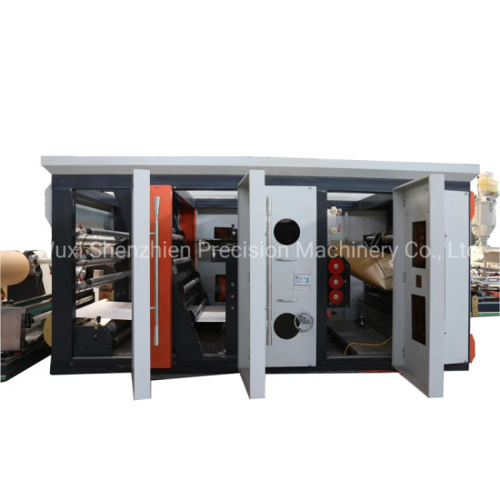 Central Sealing Cement Paper Bag Making Machine for Packaging