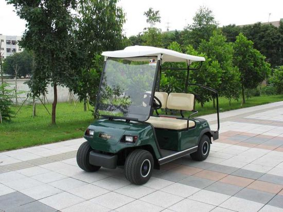 2 Seaters Green Electric Golf Car