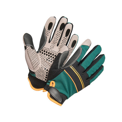Wholesale Synthetic Leather Safety Work Glove with Ce Approved