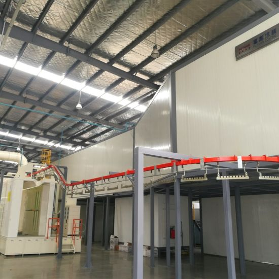 Automatic Compact Powder Coating Line for Hardware