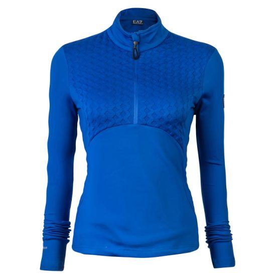 Young Women Stylish Fashion Plain Navy Zip Fleece Sweat Jacket Without Hood