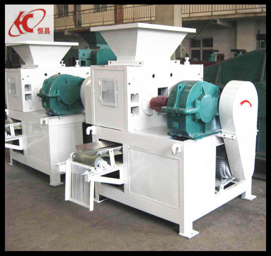 High Quality Four Roller Press Coal Briquette Machine pictures & photos