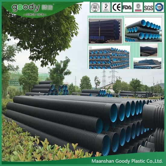 Wholesale Suppliers HDPE Double Wall Corrugated Pipe
