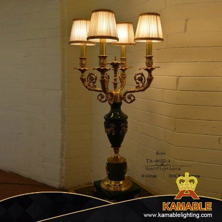 Home Goods Tiffany Decoration Brass Ceramic Desk Lamp Light (TA-0632-4)