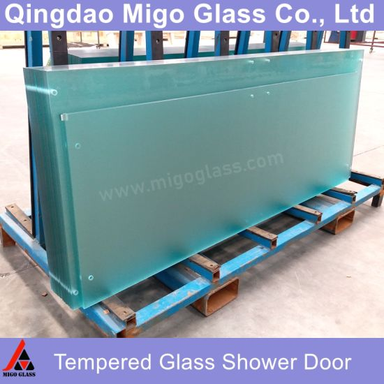 4-19mm Custom Toughened Tempered Laminated Building Glass for Window, Door, Glass Railing, Furniture, Table Top, Shower Door