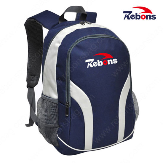 Promotional 600d Vinyl Customized Logo Plain Satchel Backpacks