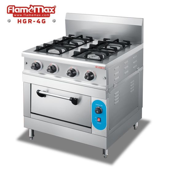 4 Burners Gas Cooker with Gas Oven (HGR-4G)