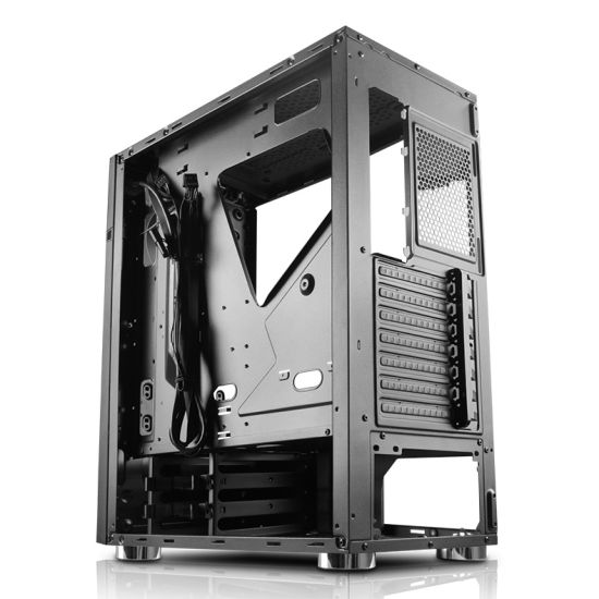 Hot Sale ATX Gaming Computer PC Case with RGB Light Strip pictures & photos