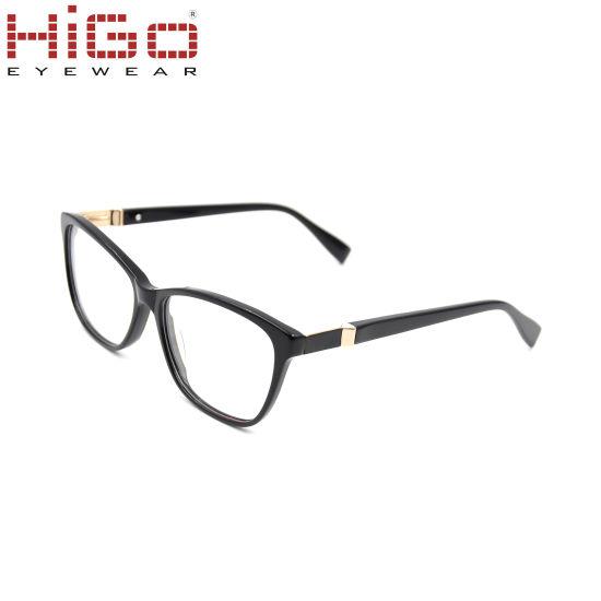 New Stylish Stock Eyeglass Fashion Handmade Acetate Optical Frame