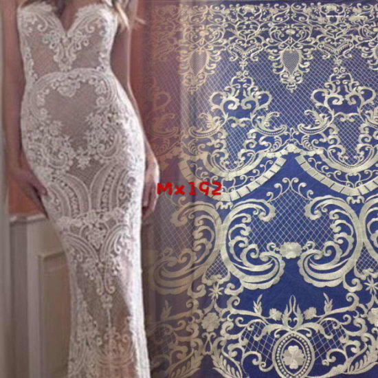 China High Quality Light Flat Embroidery For Wedding Dress And Evening Dress China Light Flat Embroidery And Embroidery Fabric Price,Soft Pink Wedding Dresses