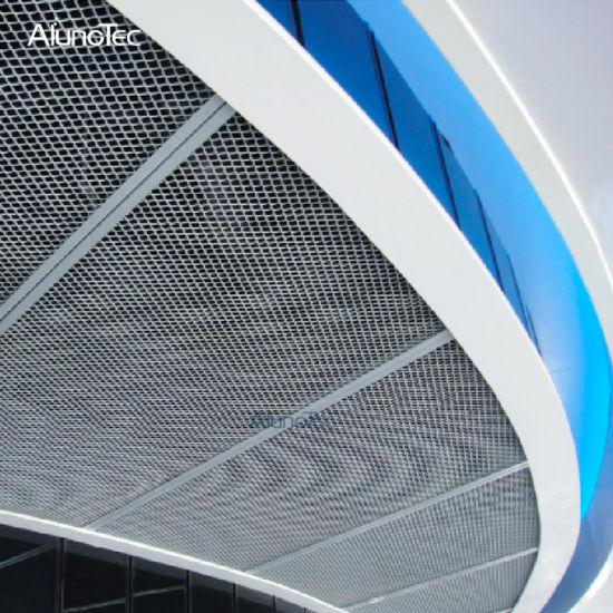 China Perforated Aluminum Wire Mesh Universal Decorative