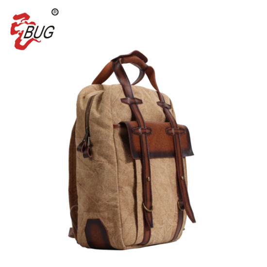 4c70d05f9a98 China Classical Canvas School Bags Rucksack - China Backpack ...