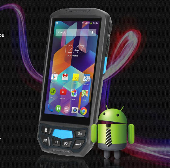 Handheld Data Collection Mobile Computer Terminal with 1d/2D Barcode Scanner Android PDA