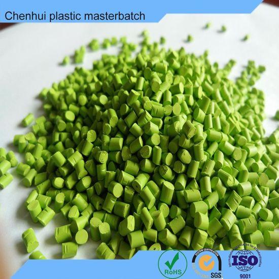 Environment -Friendly Green Masterbatch for ABS/EVA/PVA/PS/PC