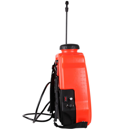 Ce Approved 16L Plastic Agricultural Backpack Power Electric Battery Sprayer (SX-MD16E) pictures & photos