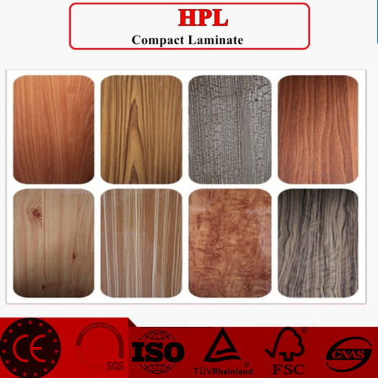 Eo Friendly HPL/ Fireresistant Cabinet Formica Laminate Sheets