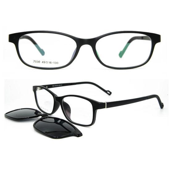 8df26e4602 Wholesale Magnetic Unisex Tr90 Optical Frames Clip on Sunglasses