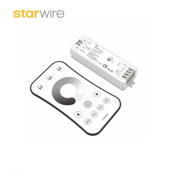 china 8a 12v 24v rf remote led dimmer controller for 2835 led strip8a 12v 24v rf remote led dimmer controller for 2835 led strip pictures \u0026 photos