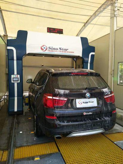 Rollover Auto Car Washing Cheap Car Wash Machine Successfully Installation  in Saudi Arabia S7