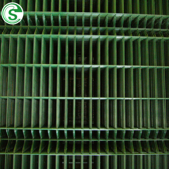 ISO Approved 3V Curve 50*200 Welded Mesh Size Fence