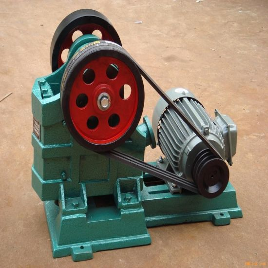 Small Diesel Drive Stone Jaw Crusher