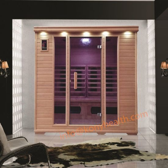 Freestanding Dry Sauna Room with ceramic and Carbon Heater Big for 3 to 4 People