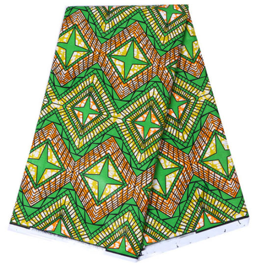 African 100/% cotton print sold by metre Dress making fabric