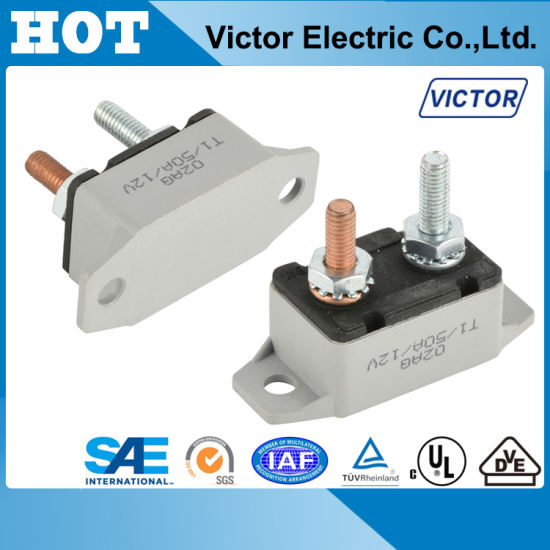 Ningbo Victor E5 Series Circuit Breaker for EV, Battery Protector E518 pictures & photos
