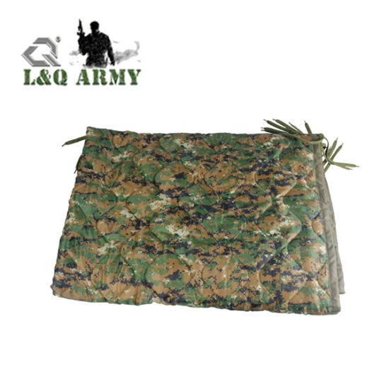 Woobie Blanket in OD Green USGI Military Style All Weather Poncho Liner