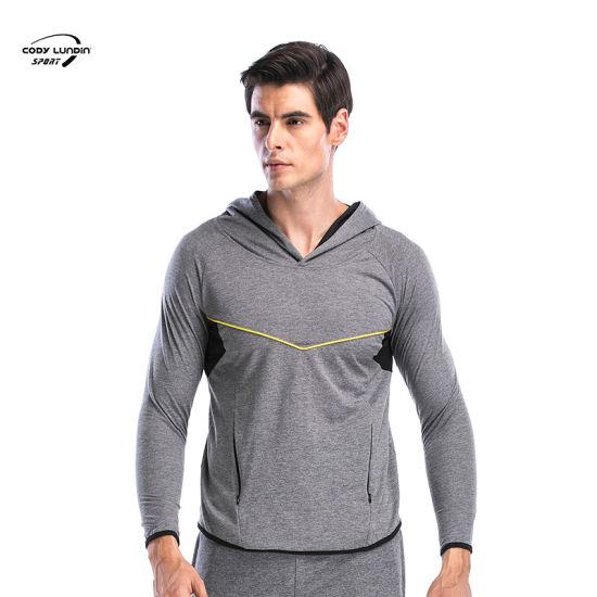 Cody Lundin High Quality Custom Printed Fleece Hooded Sweatshirts Blank Fashion Mens Pullover Hoodies Outdoor Sportswea