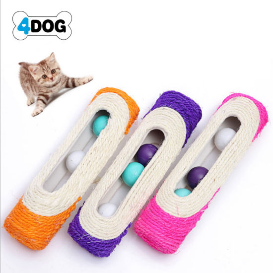 Pet Products Wholesale Cheap Cat Pet Dog Sisal Toy Manufacture