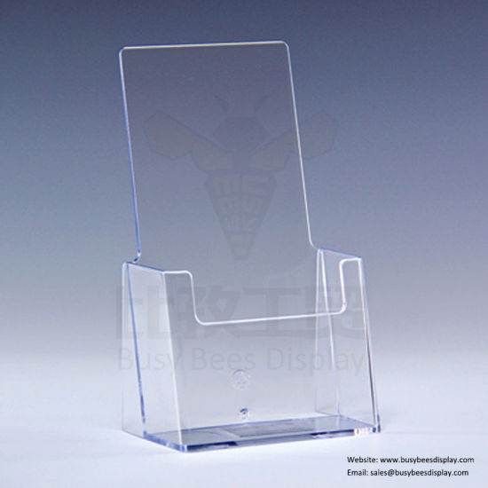 Custom Made Acrylic Document Bookends Office File Display Shelf for Sale pictures & photos