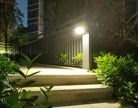 China Outdoor Solar Garden Light Dusk