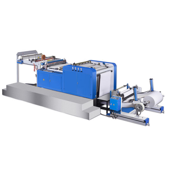 Fully Auto High Precision High Quality Printed Paper/Film/Aluminum Foil/Non Woven Cloth Sheeting Machine with Stacker