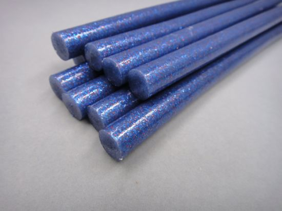 Glitter Silicone Glue Stick 7mm Hot Melt Glue Stick