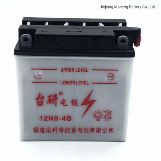 12n9l-BS Made in China Deep Cycle Flooded Lead Acid Battery