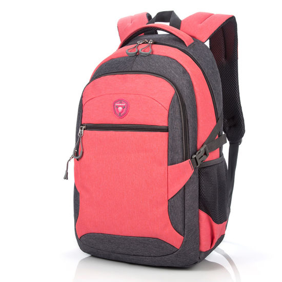 Female Women Girls Double Shoulder Outdoor Leisure Casual Travel Sports College Student Pack Backpack Bag (CY5852)