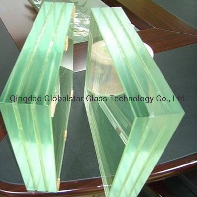 6.38mm 8.38mm 10.38mm to 10.76 mm Tempered Safety Laminated Float Glass, Laminate Glass with PVB&Sgp for Glass Railings, Furniture, Table Tops, Shower Door