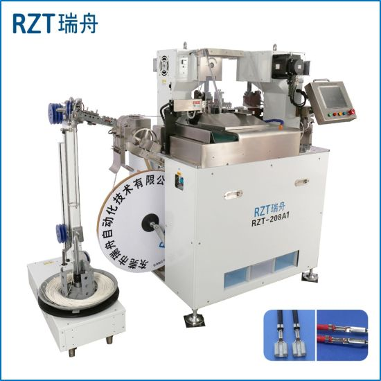 Rzt Automatic Terminal Crimping Machine for Wire Harness Processing