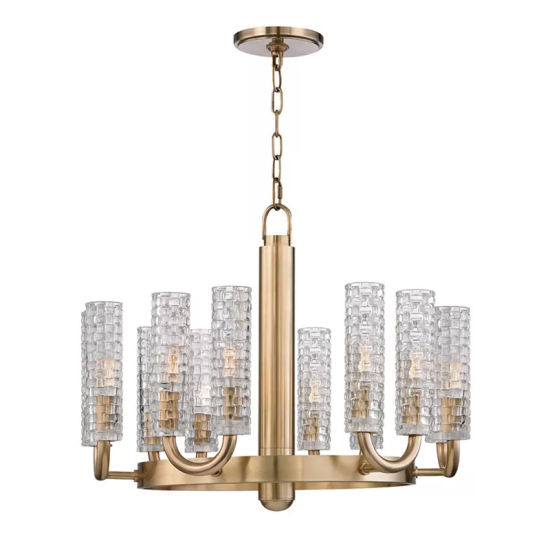 Luxury Acrylic Crystal Chandelier for Centerpieces Indoor Pendant Lamp