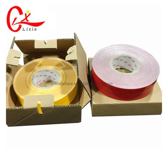 China 3m Fluorescent Green Reflective Vinyl Stickers - China