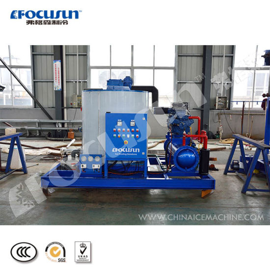 High Quality 10 Tons Fresh Water Flake Ice Machine