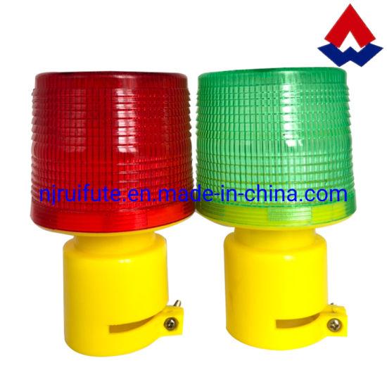 Solar Warning Light LED Road Safety Warning Blinker