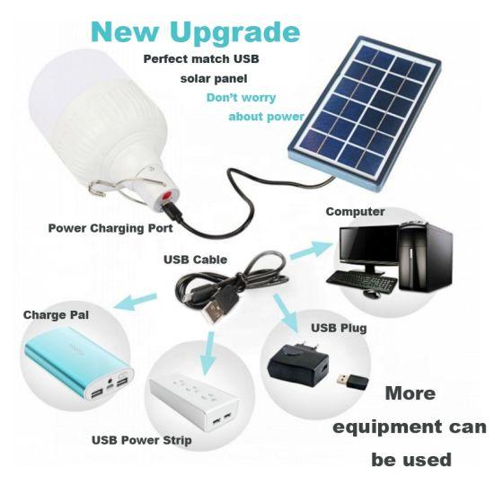 Light Portable Bulb Solar Energy Lamp