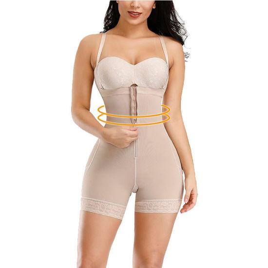 Plus Size Rubber Bone Shapewear for Women's Body Shaper Pants Butt Lifter Underwear