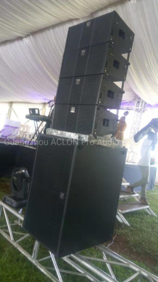 Line Array Speakers for Church Powered DJ Sound System PA System