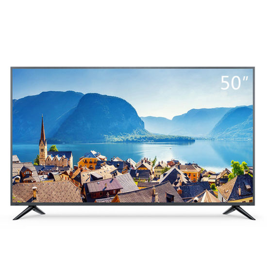 """50"""" OEM ODM UHD 4K LCD Portable Solar Television Color Touch Screen LED TV"""