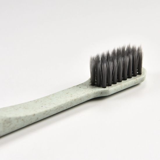 Daily Wholesale Household Bamboo Charcoal Straw OEM Soft Bristle Toothbrush